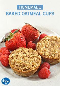 Busy school mornings can be hectic for a family, but make-ahead recipes will make everything better! These Baked Oatmeal Cups from Inspired Gathering are filled with applesauce, cinnamon, rolled oats, and your favorite fresh fruit. Your kids will love eating these on the way to school.