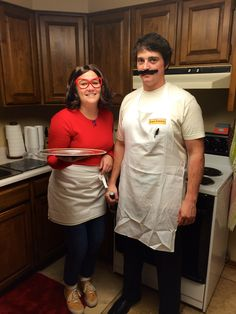 Linda and Bob Belcher from Bob's Burgers!