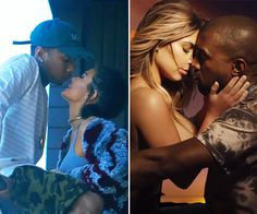 It's a battle of the sexy sisters! Kylie Jenner is the star of Tyga's new video for his song 'Stimulated,' and it seems to remind us of another steamy video…Kanye West's 'Bound 2' with Kim Kardashian! Naturally, we have to ask — which sister's starring role was sexier?