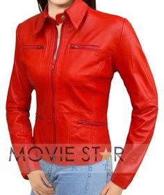 Offer! Emma Swan Red Leather Jacket Ready To Fly Within Free Shipping Offer Worldwide – Get! Once Upon A Time Jacket Available At Our Online Store – Great Offer! Black Friday And Cyber Monday We Are Providing You Your Emma Swan Jacket In Affordable Price So Hurry Up!
