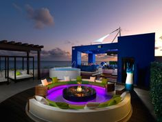 HGTV.com has rounded up some of the coziest and most glamorous fire pits from top-of-line resorts across the globe.