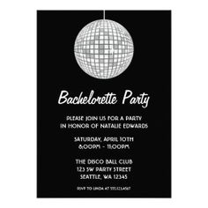 >>>Low Price Guarantee          	Silver and Black Disco Ball Bachelorette Party Invitation           	Silver and Black Disco Ball Bachelorette Party Invitation so please read the important details before your purchasing anyway here is the best buyThis Deals          	Silver and Black Disco Bal...Cleck Hot Deals >>> http://www.zazzle.com/silver_and_black_disco_ball_bachelorette_party_invitation-161861356935101048?rf=238627982471231924&zbar=1&tc=terrest