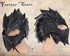 Leather armor Dark Elf by FantasyLeatherCraft on Etsy