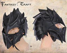 Leather armor Dark Elf by FantasyLeatherCraft on Etsy