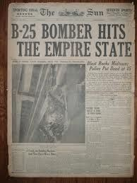 B-25 Bomber Hits the Empire State Building
