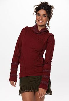 miss be classic long sleeve top