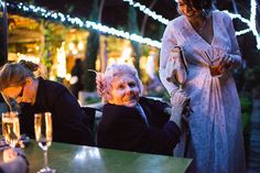 Linda and Pete's Relaxed Evening Wedding