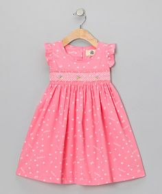 Take a look at this Pink Heart Dress - Infant & Toddler by Lil Cactus on #zulily today!