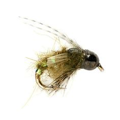The Thrift Shop Caddis Pupa by Falcon's Ledge guide, Grant Bench. Available at ORVIS.