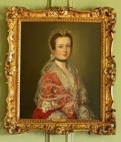 """Louisa Barbarina Mansel, Lady Vernon"", Thomas Gainsborough, 1763-67  National Trust (Sudbury Hall) 653233"
