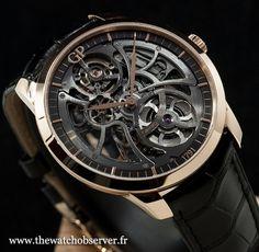 Girard-Perregaux 1966 Squelette - montre de luxe Homme …