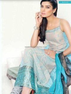 Sobia Nazir Lawn Dresses 2013 Volume 2 for Women 005