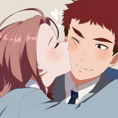 Super kissing Digimon hot girls