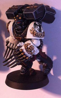Raven Guard Vanguard Veterans | Lukas Nehrer -painting white is hard. Props.