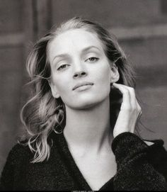 By Annie Leibovitz, Photographer. Uma Karuna Thurman (born April 29, 1970) is an American actress and model. She has performed in leading roles in a variety of films, ranging from romantic comedies and dramas to science fiction and action movies. Following early roles in films such as Dangerous Liaisons (1988), and in 1994 Quentin Tarantino's Pulp Fiction. She starred in several more films throughout the 1990's such as The Truth About Cats & Dogs, Batman & Robin, Gattaca and Les Misérables.