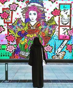 457 vind-ik-leuks, 1 reacties - AIKO (@ladyaiko_nyc) op Instagram: '@dubaiwalls xo'