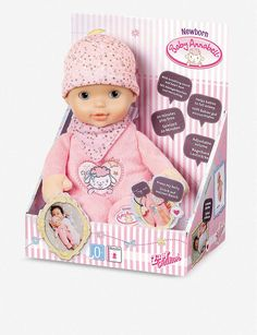 Baby Annabell Newborn Heartbeat doll Anna Bell, Baby Newborn, Christmas Toys, Toys For Girls, In A Heartbeat, Dolls, Falling Asleep, Baby Dolls, Girls Toys