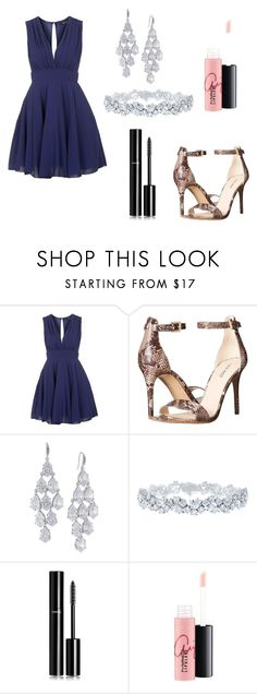 """""""Untitled #504"""" by siwar123 ❤ liked on Polyvore featuring TFNC, Nine West, Carolee, Harry Winston, Chanel, MAC Cosmetics, women's clothing, women, female and woman"""