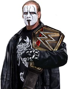 Sting WWE World Heavyweight Champion by Nibble-T.deviantart.com on @DeviantArt