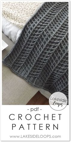 dreieckstuch The modern chevron cable design of this blanket throw makes this crochet pattern. , stricken dreieckstuch The modern chevron cable design of this blanket throw makes this crochet pattern. Crochet Afghans, Modern Crochet Blanket, Modern Crochet Patterns, Crochet Diy, Manta Crochet, Afghan Crochet Patterns, Baby Blanket Crochet, Crochet Stitches, Knitting Patterns