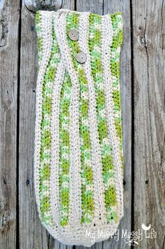 Free crochet pattern & photo tutorial for a ribbed baby cocoon http://www.mymerrymessylife.com/2012/08/crochet-baby-cocoon-free-crochet.html#
