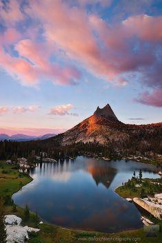 High Sierra Sanctuary - Upper Cathedral Lake, Yosemite NP, California