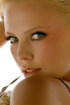 Charlize Theron. Possibly the most beautiful woman on Earth.  Correction, THE most beautiful woman period