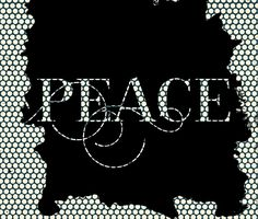 Peace.typography,,cool text,modern,trendy,pattern,design,contemporary art