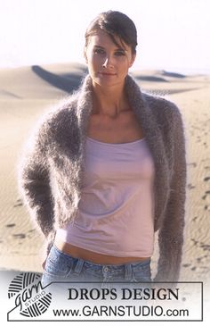 "DROPS 95-15 - DROPS Jacke in ""Vienna"" - Free pattern by DROPS Design"