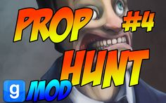 #GarrySMod Prop Hunt #4 Funny Moments - Most Intense Round Ever! УНОСИ Н...