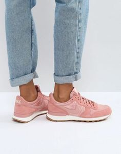 Baskets Nike – Femme Baskets en cuir à finitions en daim Air Max 90 Cuir vieux rose, daim rose poudré