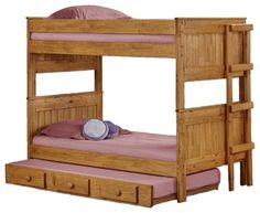 Twin Over Twin Stackable Bunk Bed - Contemporary - Kids Beds - by ...