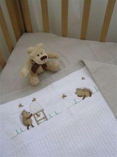 Bedding, Nursery and Decor, Baby Happy Hedgehog, Hedgehog Baby, Cot Duvet, Baby Bedding, Baby Receiving Blankets, Cot Sheets, Nursery Decor, Nursery Ideas