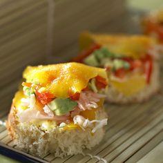 Languettes de mangue au crabe