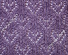 lace knit stitch