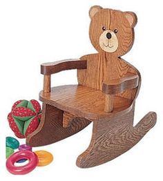 Build this Teddy Bear rocker for your favorite toddler. Easy DIY plans are $8.50 at Rockler.com