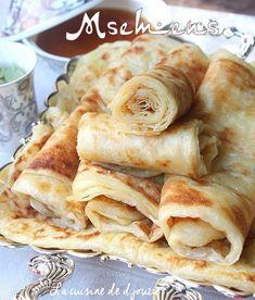 Msemen ou crêpes feuilletées du Maghreb | Recettes faciles, recettes rapides de djouza