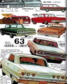 1963 Chevrolet.