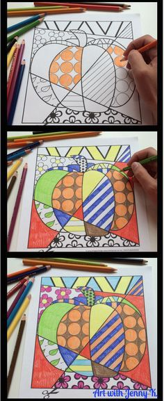 Fall coloring sheets ideal for PreK-2nd grade. Other holidays and seasons included as well.