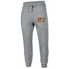 NCAAMen's Running Man Gray Classic Elastic Ankle Jogger Pants Tennessee Volunteers - Xxl, Multicolored