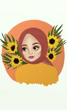 Summer Wallpaper, Iphone Wallpaper, Hijab Drawing, Lovely Girl Image, Islamic Girl, Donia, Greeting Card Template, Cute Cartoon Wallpapers, Psychedelic Art