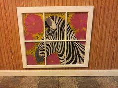 Hand painted window art $65.00 + s