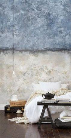 P150102-4 Vlies-Tapete Wandbild Gemälde im Stil des Kubismus: Amazon.de: Baumarkt