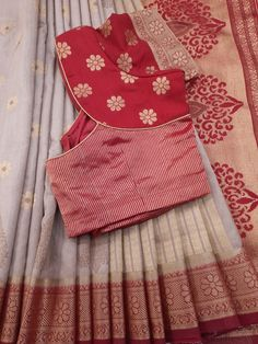 Simple Saree Blouse Designs, Patch Work Blouse Designs, Pattu Saree Blouse Designs, Fancy Blouse Designs, Blouse Designs Catalogue, Sleeves Designs For Dresses, Wedding Blouses, Ethinic Wear, Blouse Online