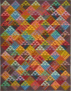Striped Baskets Quilt Fabric Pack Kaffee Fassett