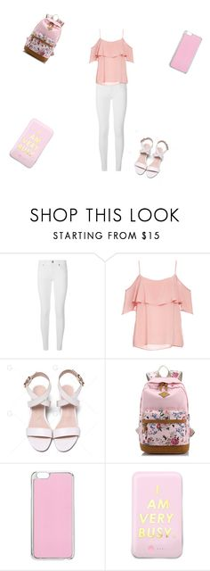 """""""School day part 4"""" by sladams3 ❤ liked on Polyvore featuring Burberry, BB Dakota, Miss Selfridge and ban.do"""