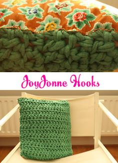 JoyJonne Hooks Pillow #DIY #Crochet #haken