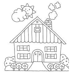 "Marabu Window Color Malvorlage ""Bauernhof""  http://marabu.com/k/b   #Marabu #WindowColor #Malvorlage"
