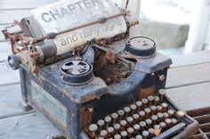 antique typewriters pinterest | Vintage / old typewriter