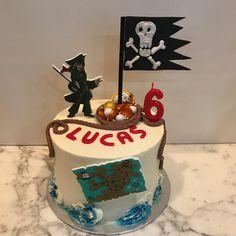 Tarta buttercream pirata. Cake, Desserts, Food, One Year Birthday, Pies, Sweets, Tailgate Desserts, Deserts, Kuchen